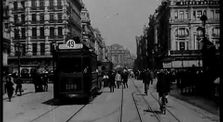 'Round Brussels in Ten Minutes (Durch Brüssel in 10 Minuten) - 1908 by tourisme